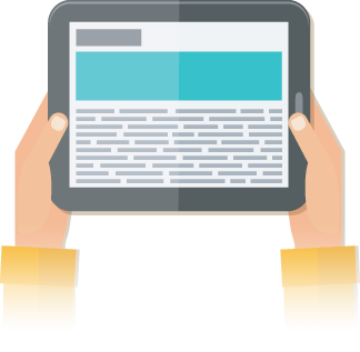 Ebooks are visually engaging and a good way to engage your audience.
